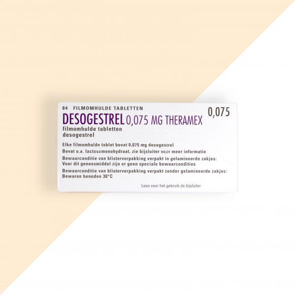 Desogestrel 0,075mg Theramex