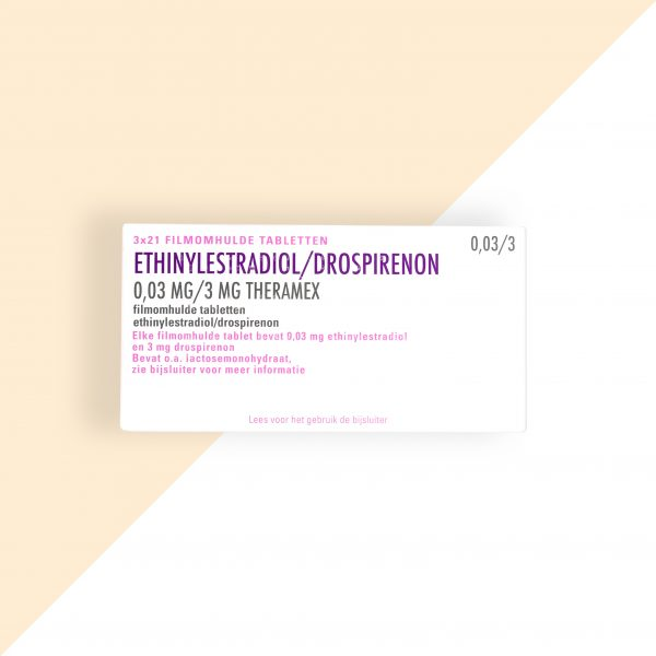 Ethinylestradiol/ Drospirenon 0,03/3mg Theramex