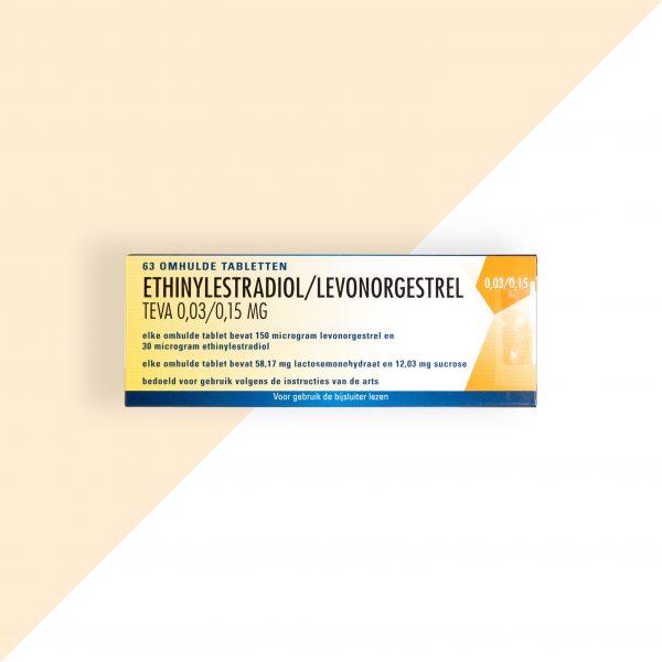Ethinylestradiol/ Levonorgestrel 0,03/0,15mg Teva