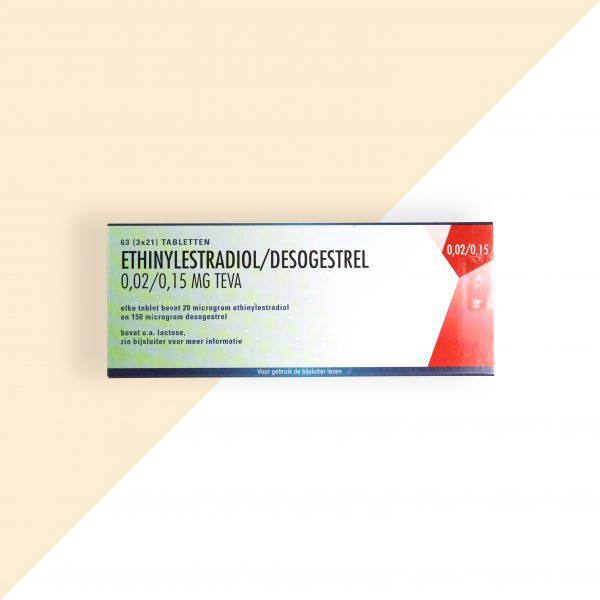 Ethinylestradiol/ Desogestrel 0,02/0,15mg Teva