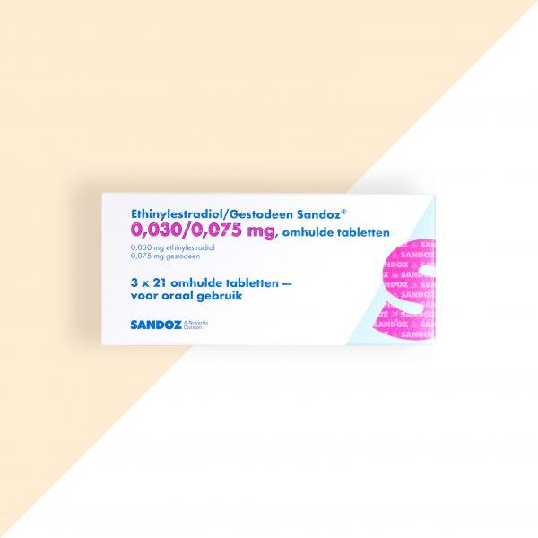 Ethinylestradiol/ Gestodeen 0,03/0,075mg Sandoz