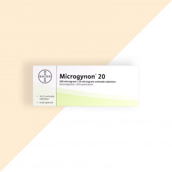 Microgynon 20 Levongestrel/ Ethinylestradiol 0,10/0,02 Bayer