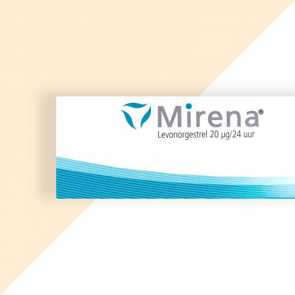 Mirena Levonorgestrel 20mcg/24uur (52mg) - Bayer