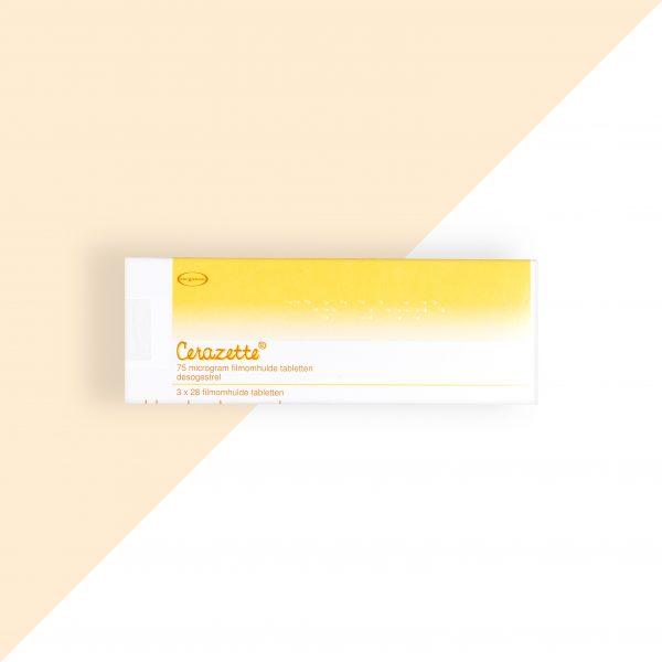 Cerazette Desogestrel 0,075mg Organon