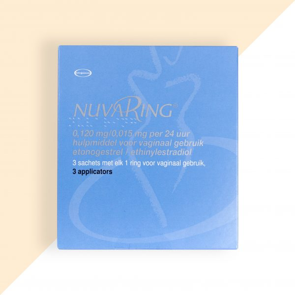 Nuvaring Etonogestrel/ Ethinylestradiol 0,12/0,015mg/24u Organon