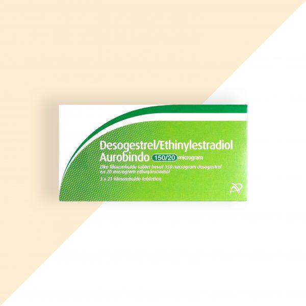 Desogestrel/ Ethinylestradiol 0,15/0,02mg Aurobindo