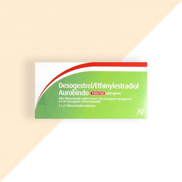 Desogestrel/ Ethinylestradiol 0,15/0,03mg Aurobindo