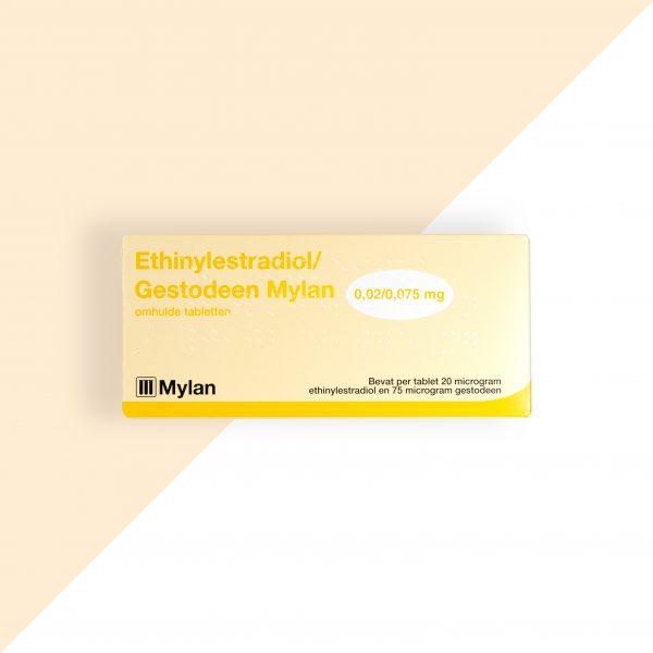 Ethinylestradiol/ Gestodeen 0,02/0,075mg Mylan
