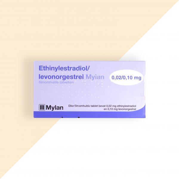 Ethinylestradiol/ Levonorgestrel 0,02/0,1mg Mylan