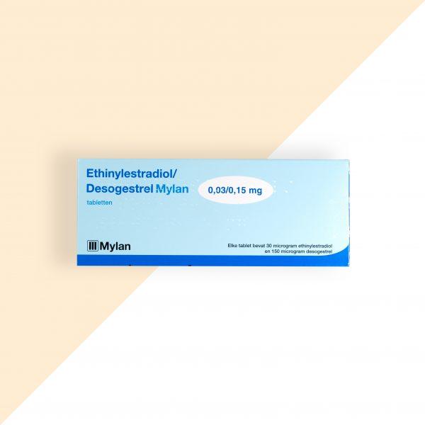 Ethinylestradiol/ Desogestrel 0,03/0,15mg Mylan