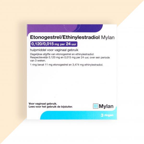 Etonogestrel/ Ethinylestradiol 0,12/0,015mg/24u Mylan