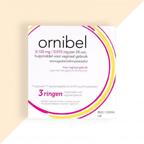 Ornibel Etonogestrel/ Ethinylestradiol 0,12/0,015mg/24u Xiromed