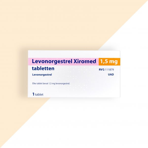Levonorgestrel 1,5mg Xiromed (Morning-afterpil binnen 3 dagen)