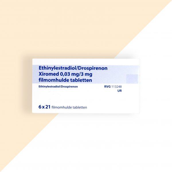 Ethinylestradiol/ Drospirenon 0,03/3mg Xiromed