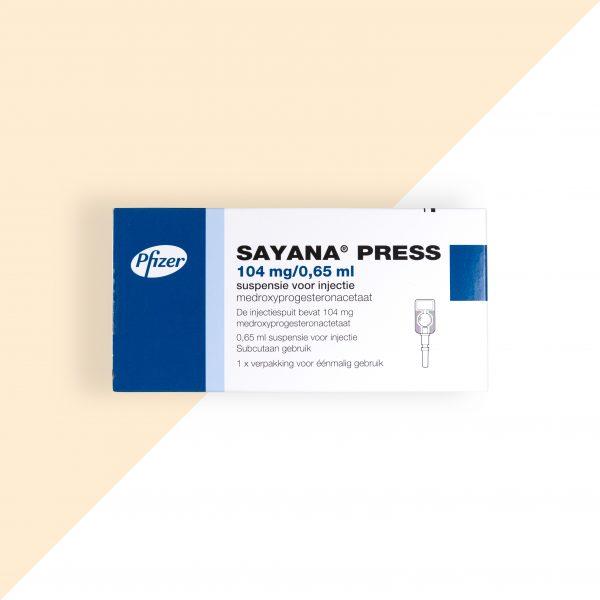 Sayana Press 104mg/0,65ml Pfizer (Prikpil)