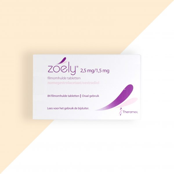 Zoely Nomegestrolacetaat/ Oestradiol 2,5/1,5mg Theramex